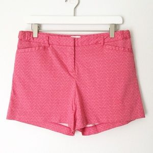 Laundry By Shelli Segal Pink Printed Shorts ▪️